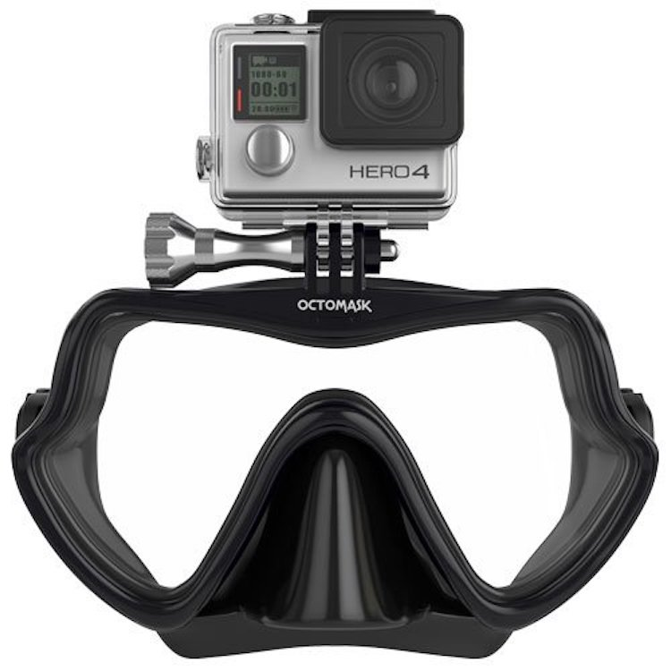 Frameless GoPro Hero 3 Mask