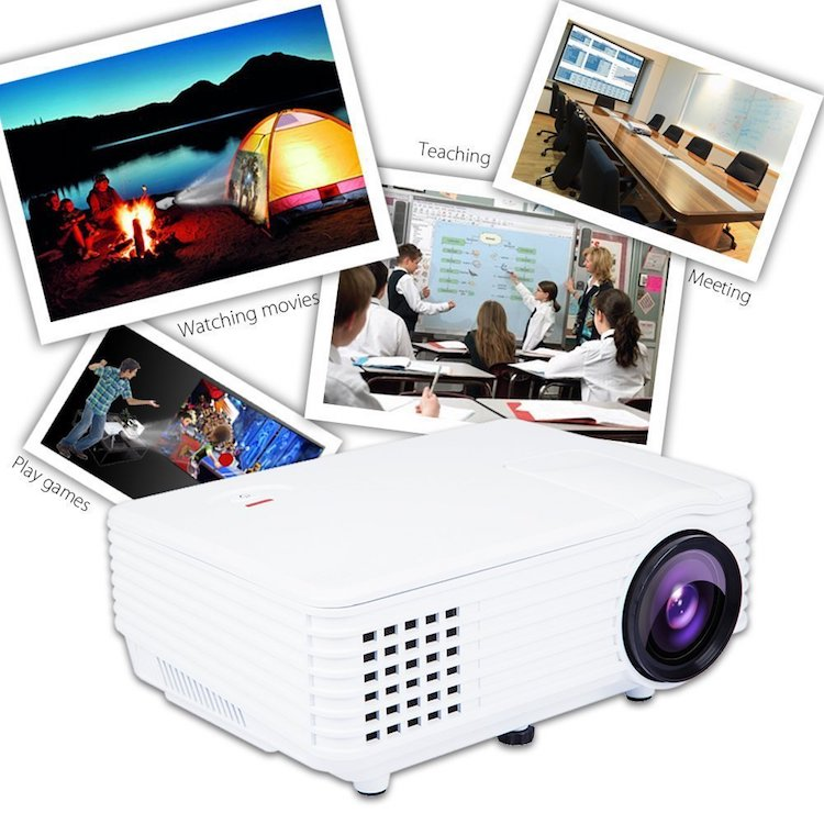 H1 LED LCD (WVGA) Mini Video Projector