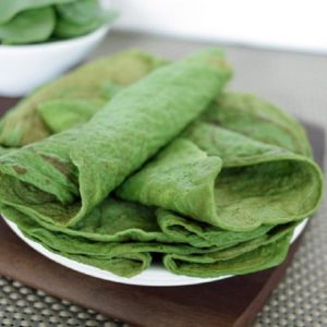 Paleo Spinach Crepes