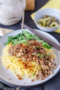 Pork & Mushroom Noodles