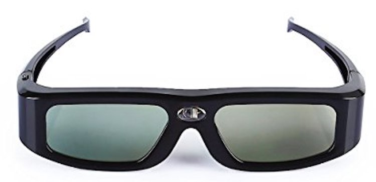 SainSonic 3D Infrared Active Rechargeable Shutter Glasses