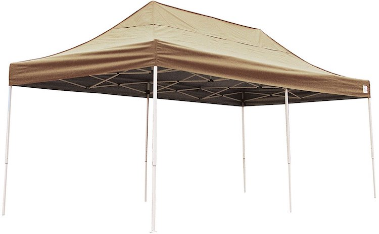 ShelterLogic 10×20 Straight Leg Pop-up Canopy