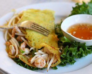 Sizzling Saigon Crepes
