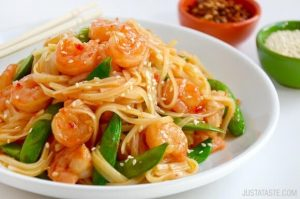 Sweet & Sour Shrimp Stir-Fry
