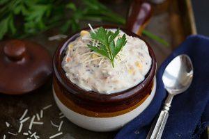 Wild Rice & Chicken Soup