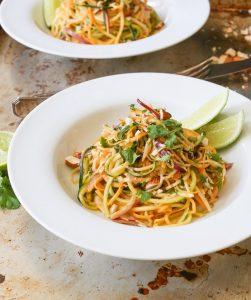 Zucchini Noodle Salad