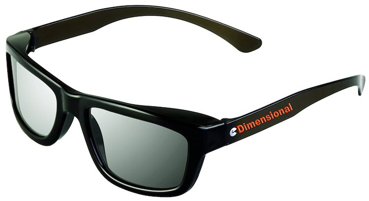 eDimensional Real-D Circular Polarized 3D Glasses