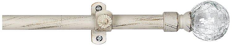 Achim Home Furnishings Metallo Ilana Curtain Rod