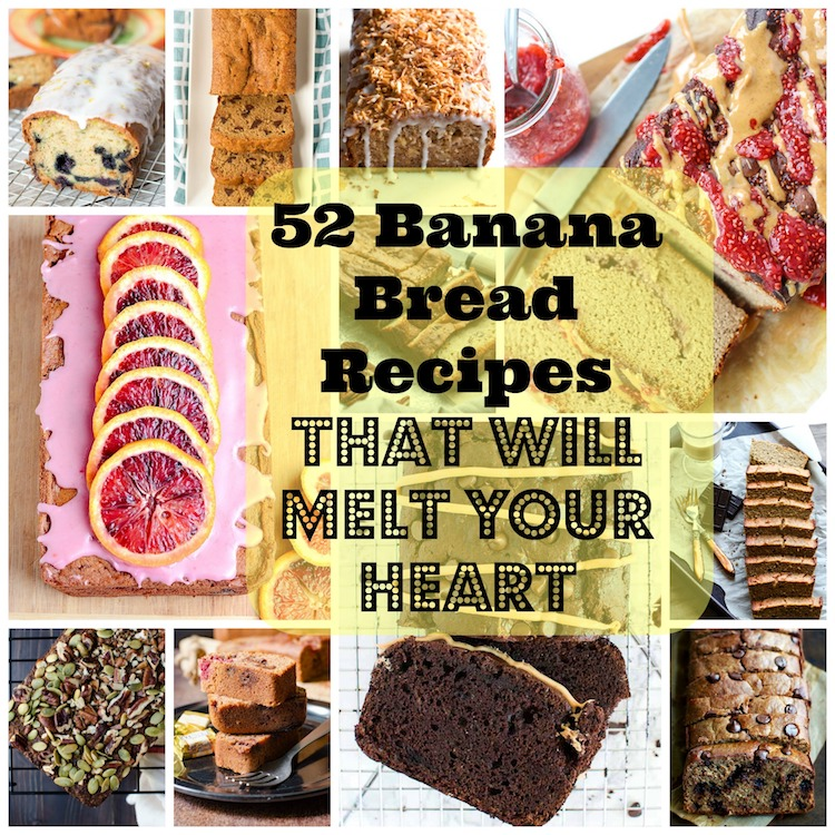 52 Heart Melting Banana Bread Recipes. | Ideahacks.com