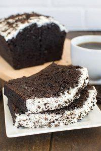 Chocolate Cookies & Cream Banana Bread