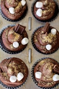 Decadent S'mores Cupcakes