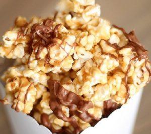 Disneyland Caramel Chocolate Popcorn