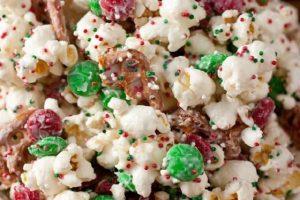 Funfetti Popcorn Christmas Style