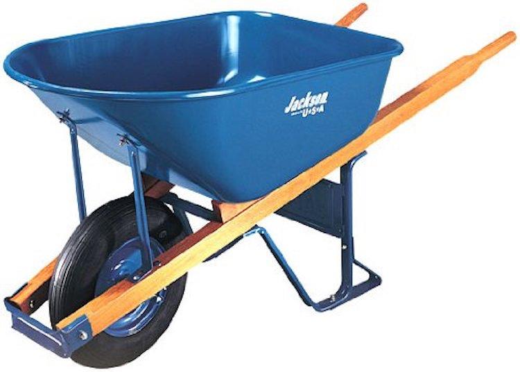 Jackson Steel Tray Contractor Wheelbarrow