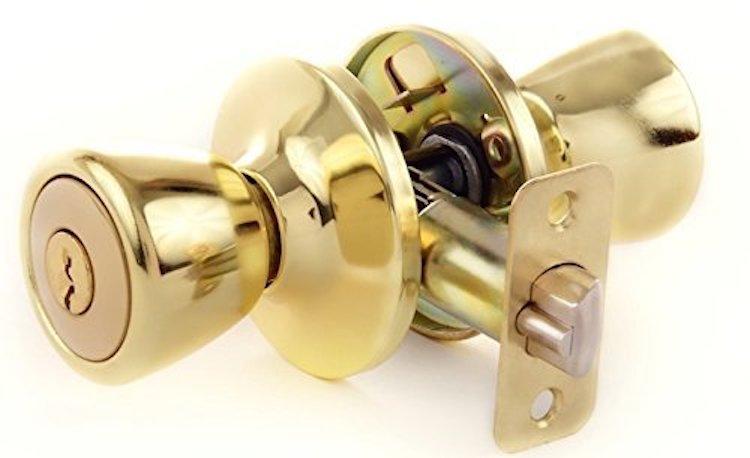 Lion Locks LIO0107 Tulip Keyed Entry Door Knob