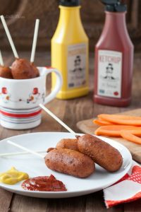 Paleo Mini Corn Dogs