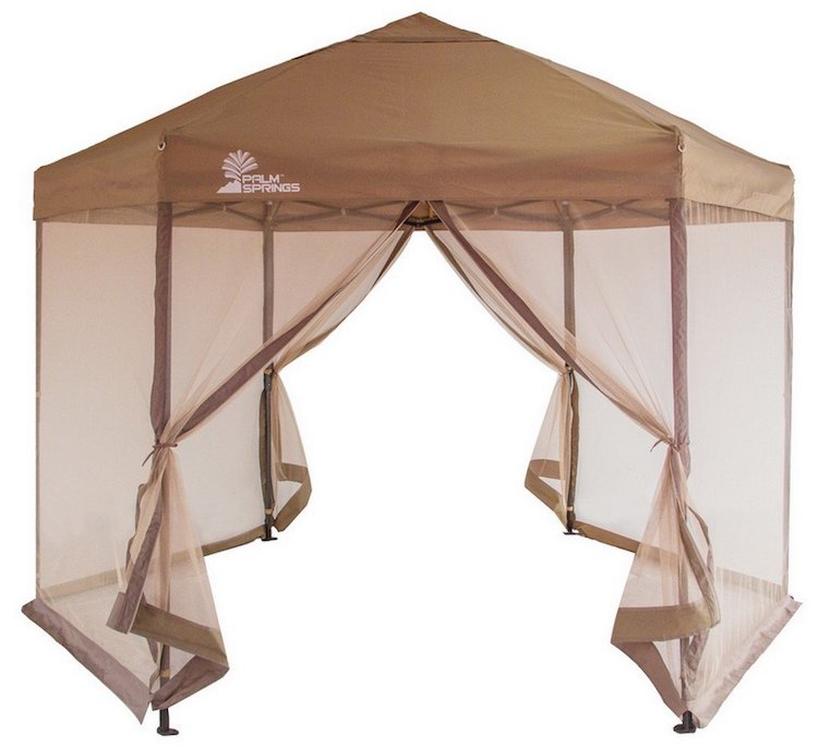 Palm Springs Hexagonal Pop-Up Canopy Tent