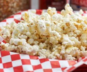 Sea Salt and Cinegar Popcorn
