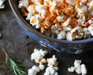Smoked Paprika & Rosemary Olive Oil Popcorn