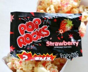 Strawberry Popping Candy Popcorn