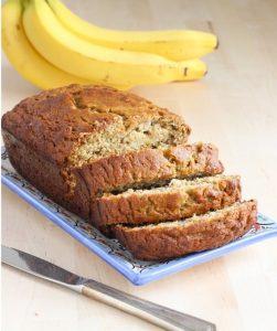 The Perfect Gluten Free Banana Bread