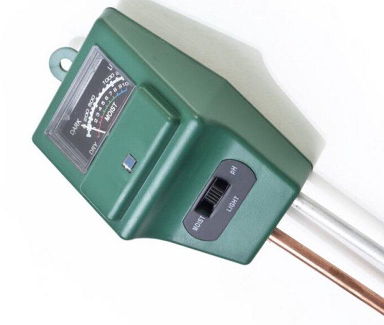 Tinksky Portable 3-in-1 Soil Tester