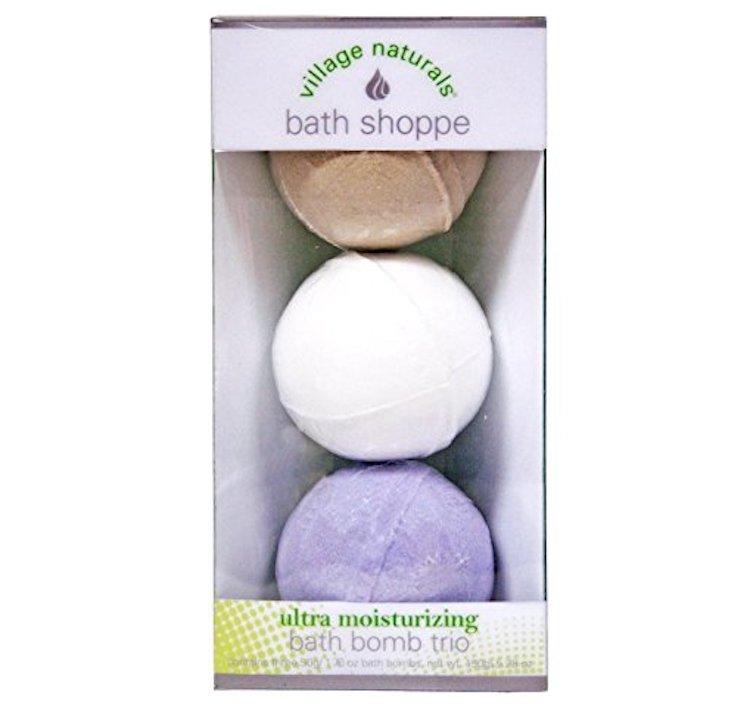 Village Naturals Bath Shoppe Bath Bomb Trio