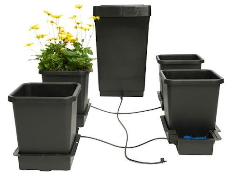 AutoPot 4pot System Gravity Fed Watering System
