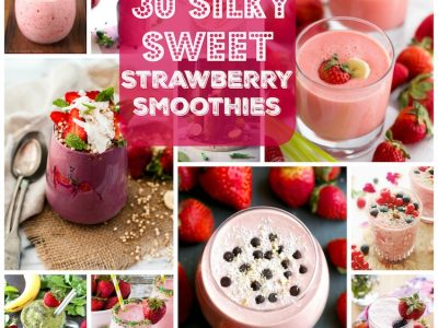 30 Silky Sweet Strawberry Smoothies. | Ideahacks.com