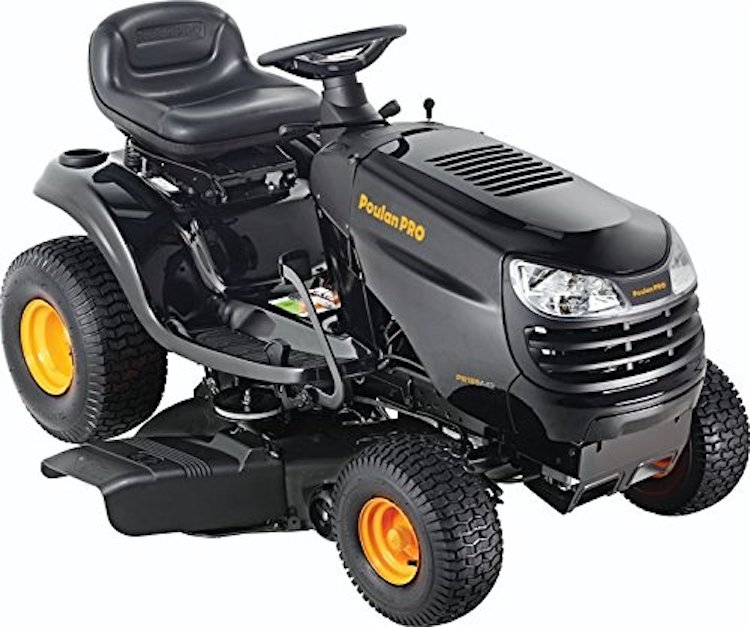 Briggs 18.5 HP Pedal Control Auto Drive Cutting Deck Riding Mower