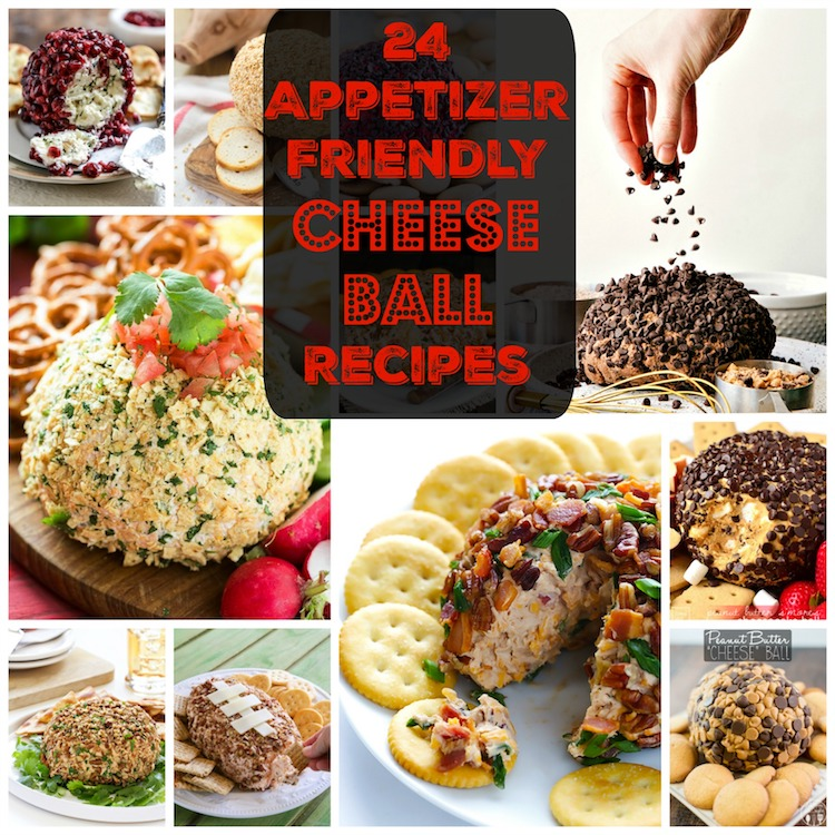 24 Appetizer Friendly Cheese Ball Recipes. | Ideahacks.com