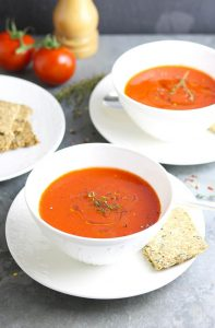 Chilled Roast Pepper Soup