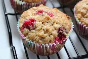 Cranberry & Oatmeal Breakfast Muffins