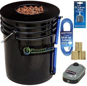Deep Water Culture (DWC) Hydroponic Bucket Kit