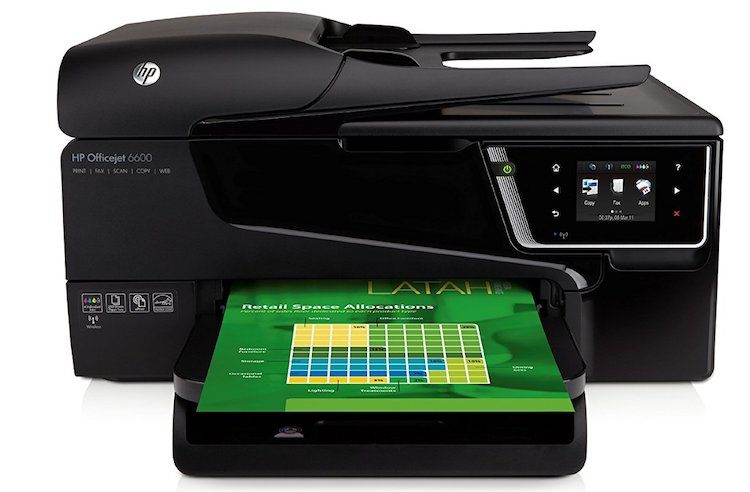 HP Officejet 6600 e-All-in-One Wireless Color Photo Printer