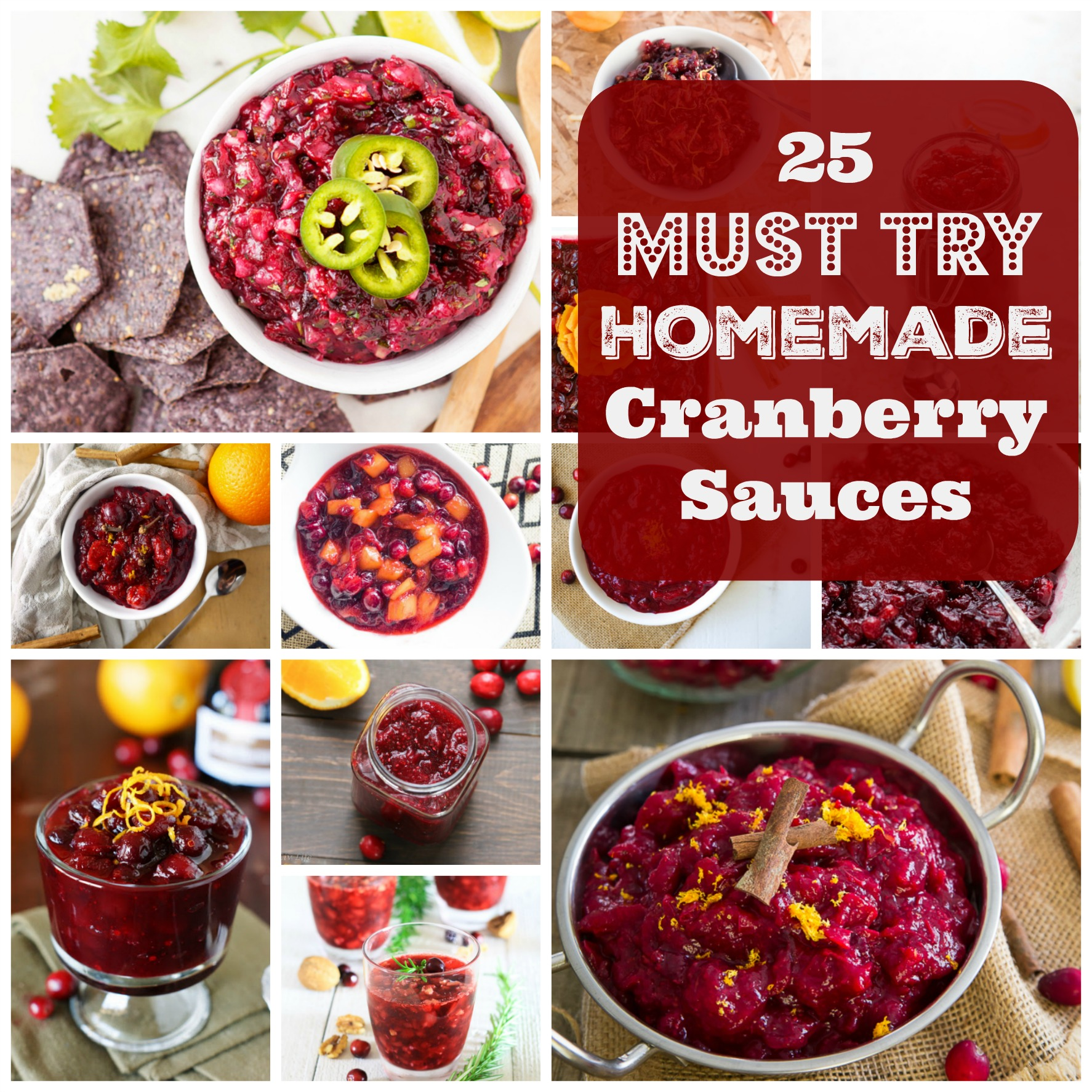 25 Must Try Homemade Cranberry Sauces That Are Packed With Flavor. | Ideahacks.com