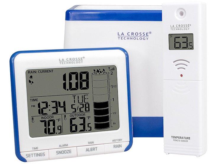 La Crosse Technology 724-1710 Wireless Rain Gauge