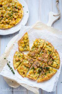 Potato Chorizo Frittata