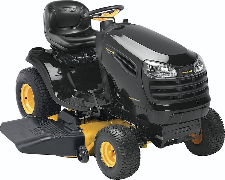 Poulan Pro Briggs Pedal Control Fast Auto Drive Cutting Deck Riding Mower