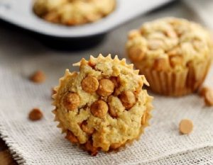 Pumpkin Butterscotch Oatmeal Muffins
