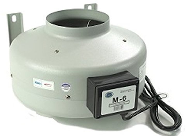 Tjernlund M-6 Inline Duct Booster Fan