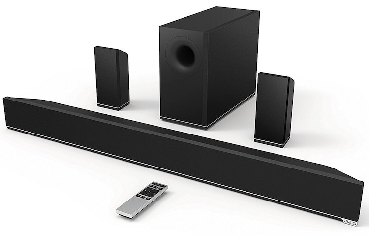 VIZIO S3851w-D4 38-Inch 5.1 Channel Sound Bar