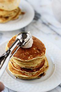 Vanilla Bean & Brown Butter Pancakes
