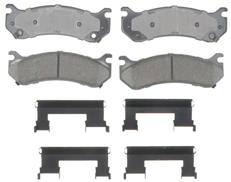 ACDelco Professional Ceramic Front Disc Brake Pads