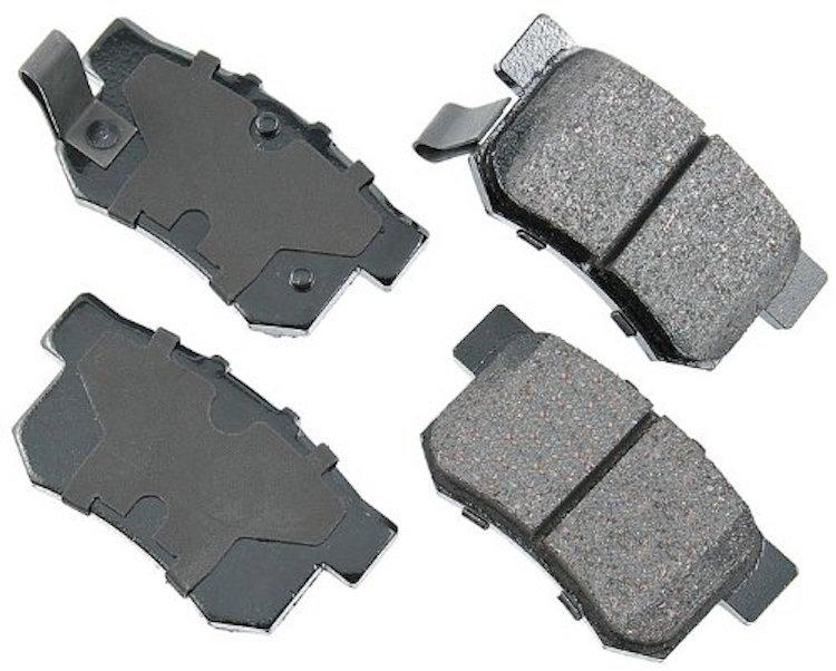 Akebono ACT537 ProACT Ultra-Premium Ceramic Brake Pad Set