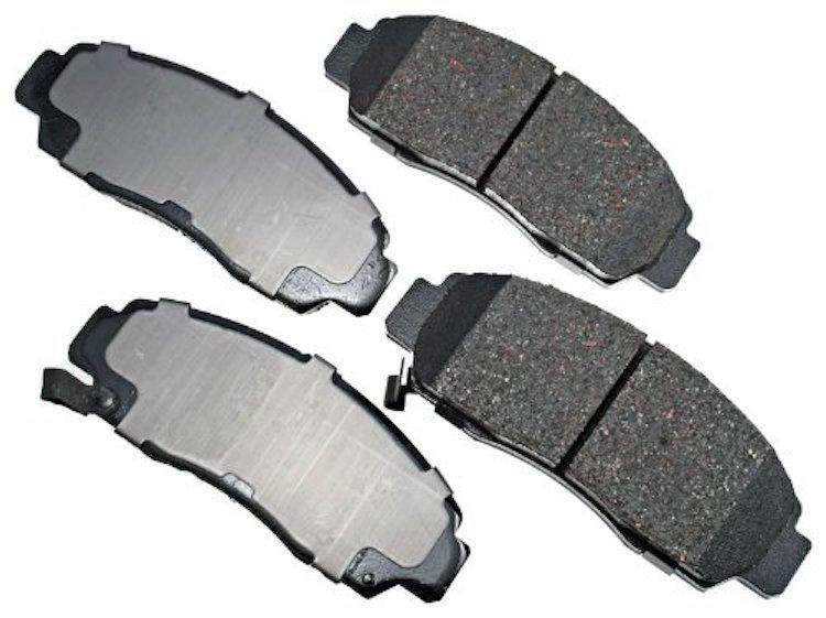 Akebono ProACT Ultra-Premium Ceramic Brake Pads