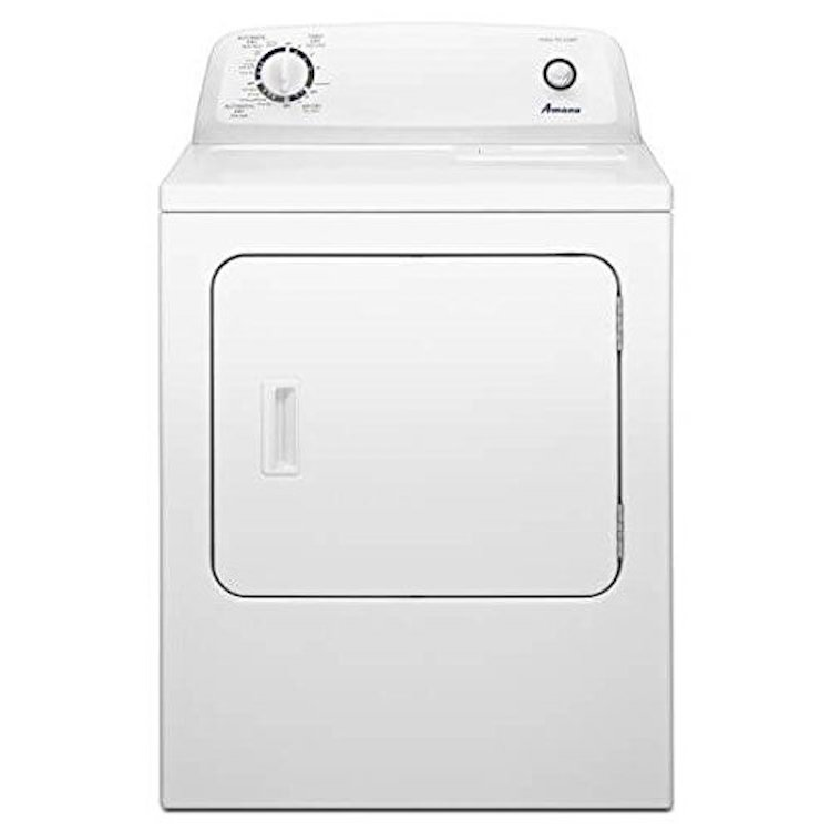 Amana NED4655EW Top-Load 30 Electric Dryer