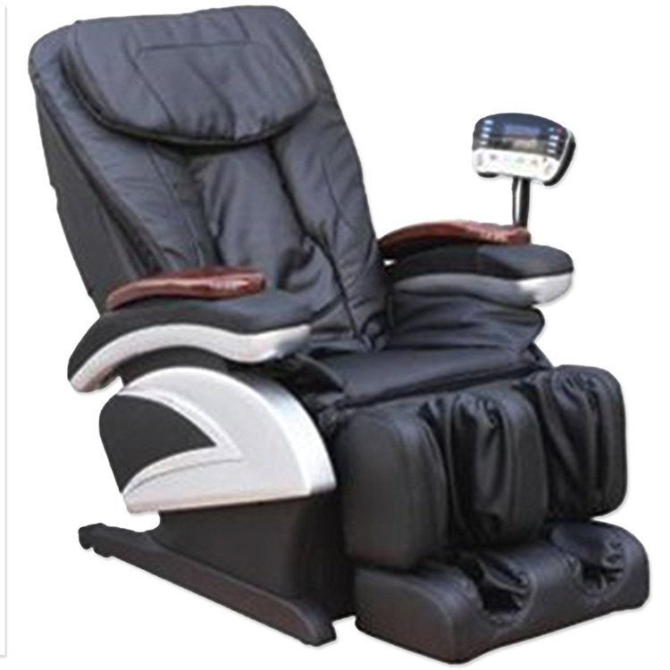 Black Shiatsu Massage Recliner Chair