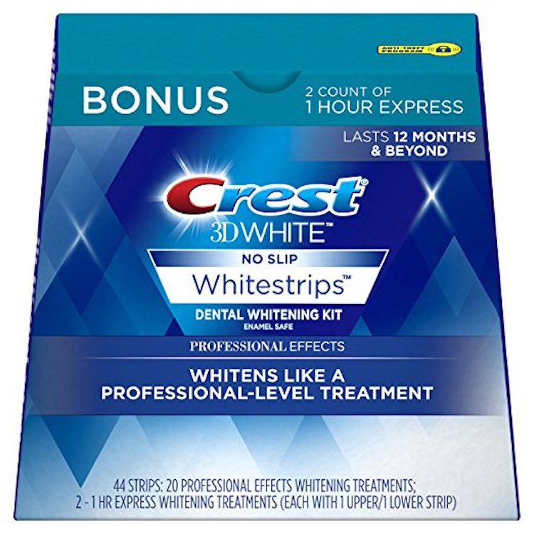 Crest 3D White Luxe Whitestrips best teeth whitening kits