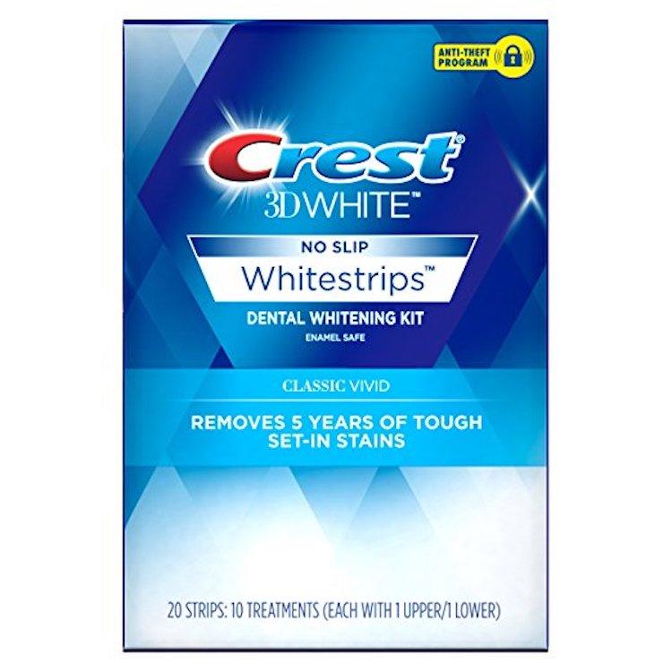 Crest 3D White Whitestrips Classic Vivid best teeth whitening kits